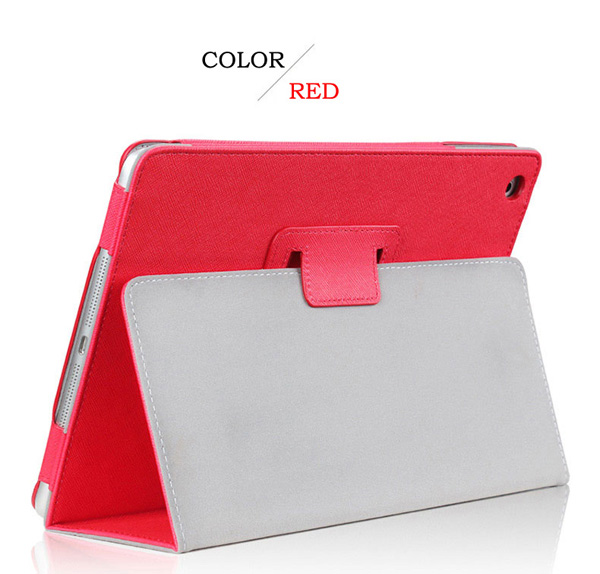 Cheap iPad Mini Air Pro Leather Cover Folding Folio Case IPMC06_6