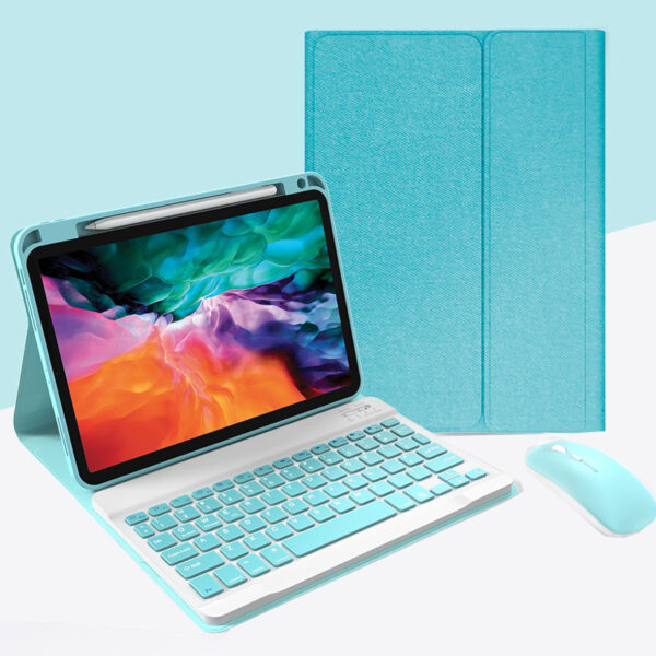 Best iPad Pro Air Bluetooth Keyboard Cover For iPad IPMK02_2