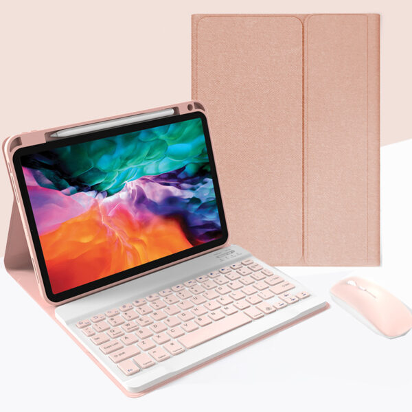 Best iPad Pro Air Bluetooth Keyboard Cover For iPad IPMK02_3