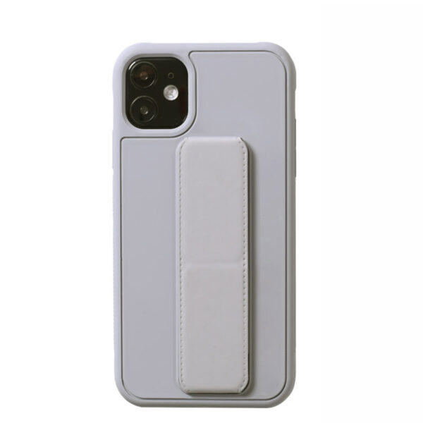 Leather iPhone 11 Pro Max XS XR Case With Folding Bracket IPS605_3