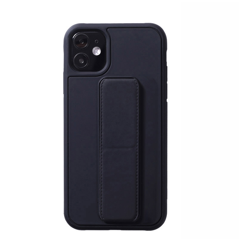 Leather iPhone 11 Pro Max XS XR Case With Folding Bracket IPS605_16