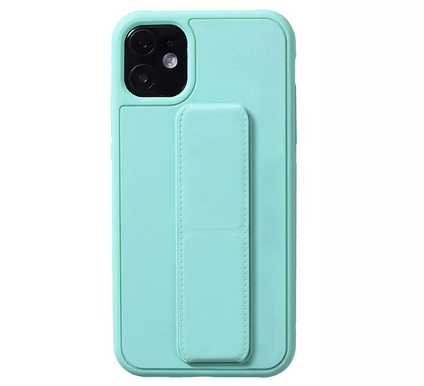 Leather iPhone 11 Pro Max XS XR Case With Folding Bracket IPS605_5
