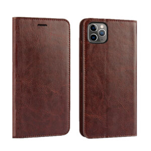 Good Leather Protective iPhone 12 Mini Pro Max Case Cover IPS603