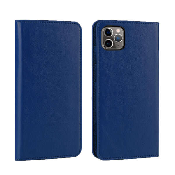 Good Leather Protective iPhone 12 Mini Pro Max Case Cover IPS603_3