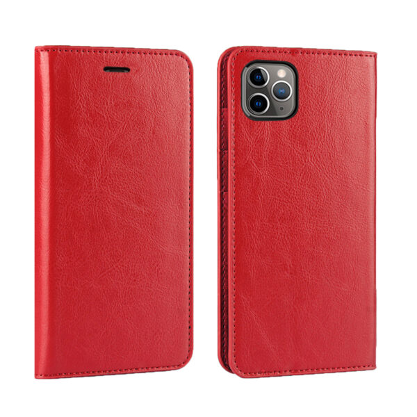 Good Leather Protective iPhone 12 Mini Pro Max Case Cover IPS603_4