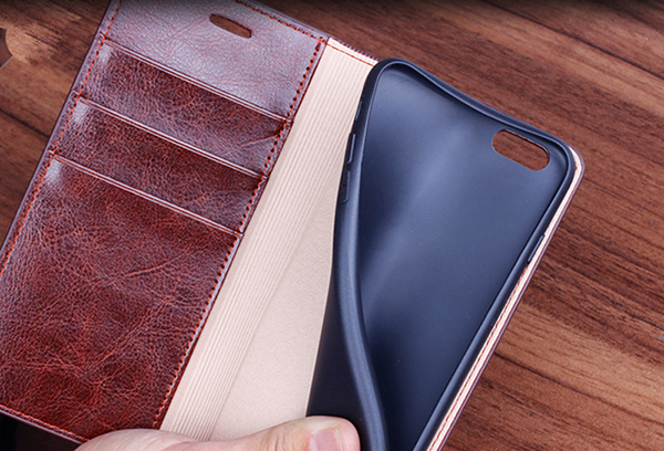 Good Leather Protective iPhone 6 And Plus Cases And Cover IPS603__5