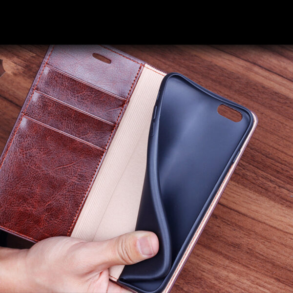 Good Leather Protective iPhone 12 Mini Pro Max Case Cover IPS603_5