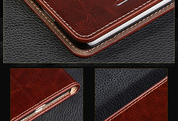 Good Leather Protective iPhone 6 And Plus Cases And Cover IPS603__7