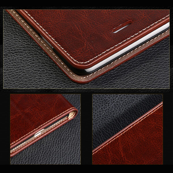 Good Leather Protective iPhone 12 Mini Pro Max Case Cover IPS603_7