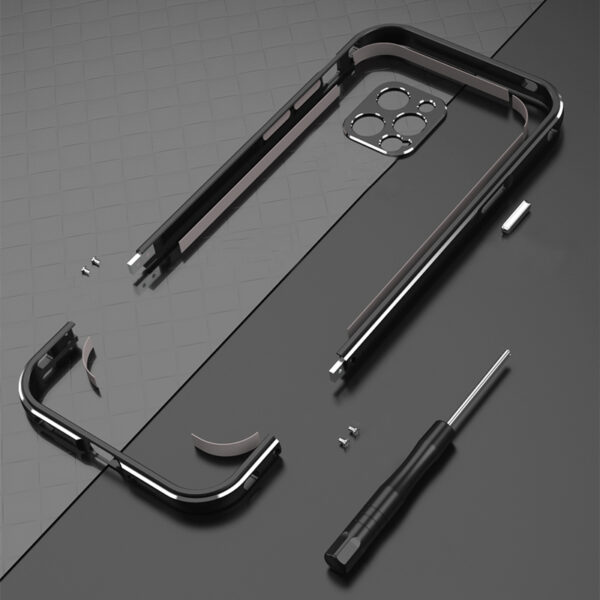 Perfect Metal iPhone 6 6S Plus Bumper Frame For Protection IPS606_5