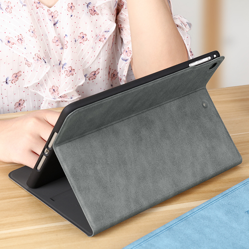 Vintage Relief Pattern iPad Air 1 2 2017 2018 New iPad 9.7 Inch Leather Cover IPCC01_5