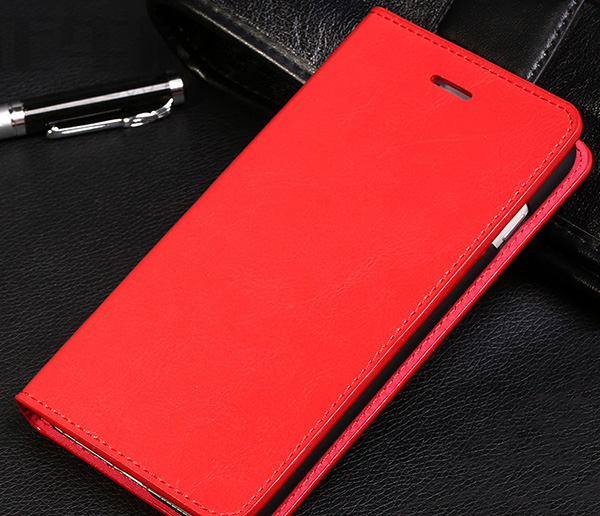 Cool Protective Leather iPhone 6 7 8 Plus Case With Card Slot IPS608_3