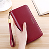 Smart Leather Cell Phone Wallets Credit Card Wallet For Women PW01