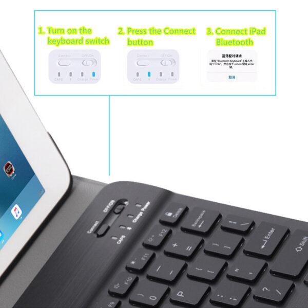 Best Protective iPad Mini 5 4 3 Keyboard With Cover IPML01_5