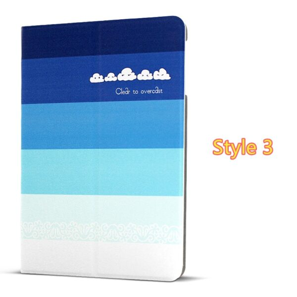 Best Leather iPad Air And iPad Air 2 Cover With HD Cartoon Drawing IPCC04_3