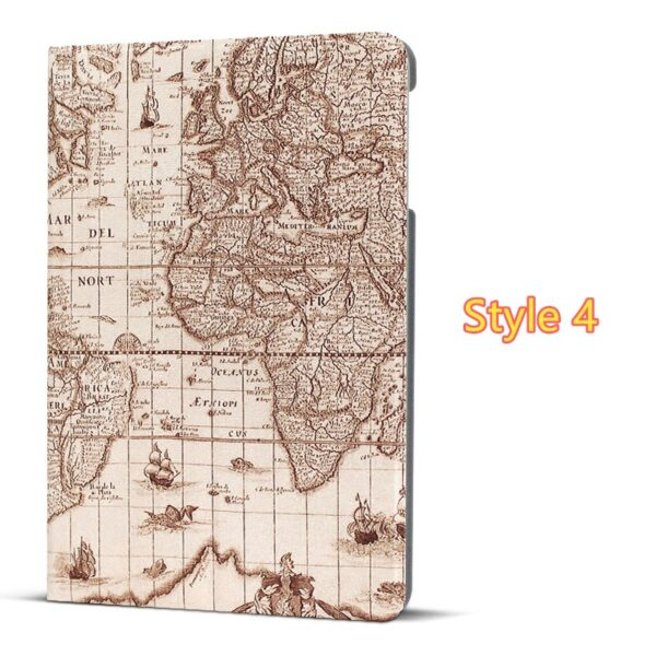Best Leather iPad Air And iPad Air 2 Cover With HD Cartoon Drawing IPCC04_4