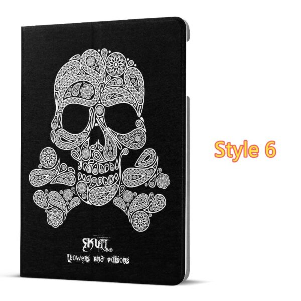 Best Leather iPad Air And iPad Air 2 Cover With HD Cartoon Drawing IPCC04_6