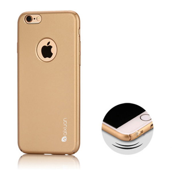 Best Luxury Super Toughness Gold Apple iPhone 6 Plus Cases IPS613_2