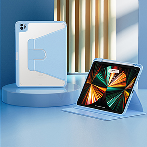 Best Metal Material iPad Air 2 Smart Cover Cases For iPad Air 2 IPCC03