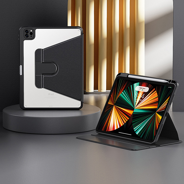Best Metal Material iPad Air 2 Smart Cover Cases For iPad Air 2 IPCC03_3