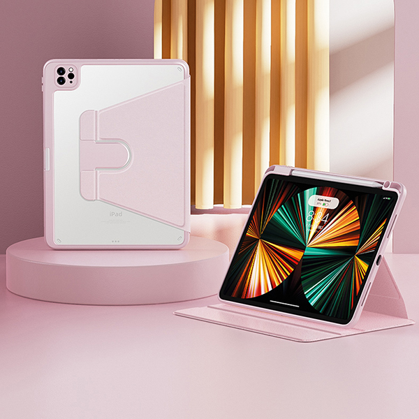 Best Metal Material iPad Air 2 Smart Cover Cases For iPad Air 2 IPCC03_4