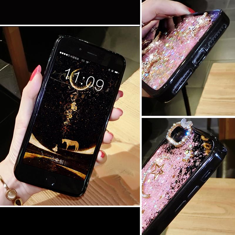 Glitter Liquid Flowing Case For iPhone 11 XS Max 8 7 6 Plus IPS616_4