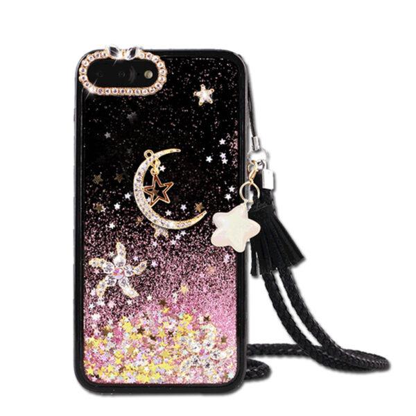 Glitter Liquid Flowing Case For iPhone 11 XS Max 8 7 6 Plus IPS616_5