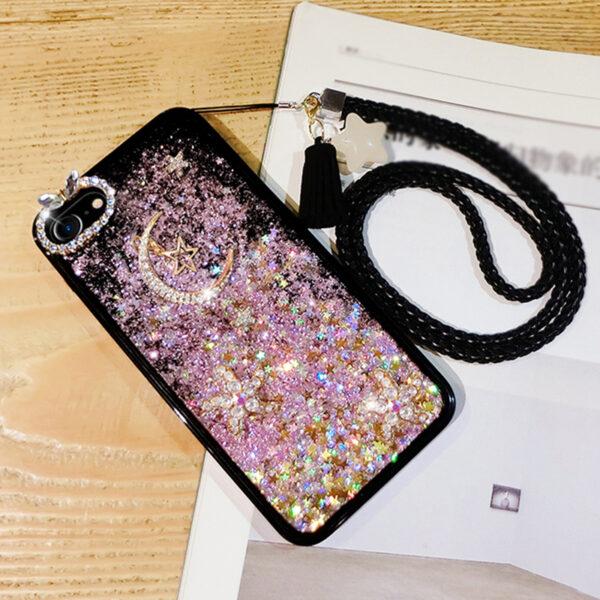Glitter Liquid Flowing Case For iPhone 11 XS Max 8 7 6 Plus IPS616_6