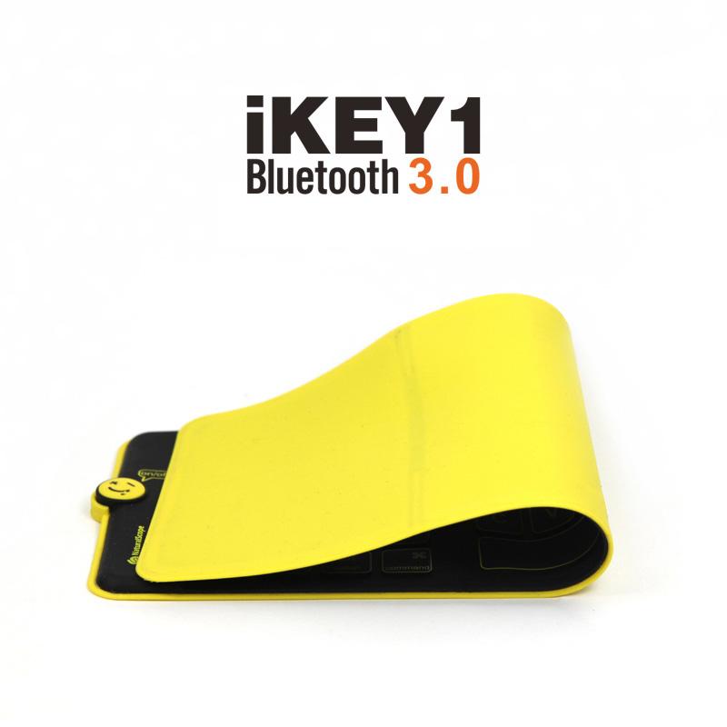Black Thinest Foldable iPhone 6 Plus 6 iPad Surface Bluetooth Keyboard Case PKB01