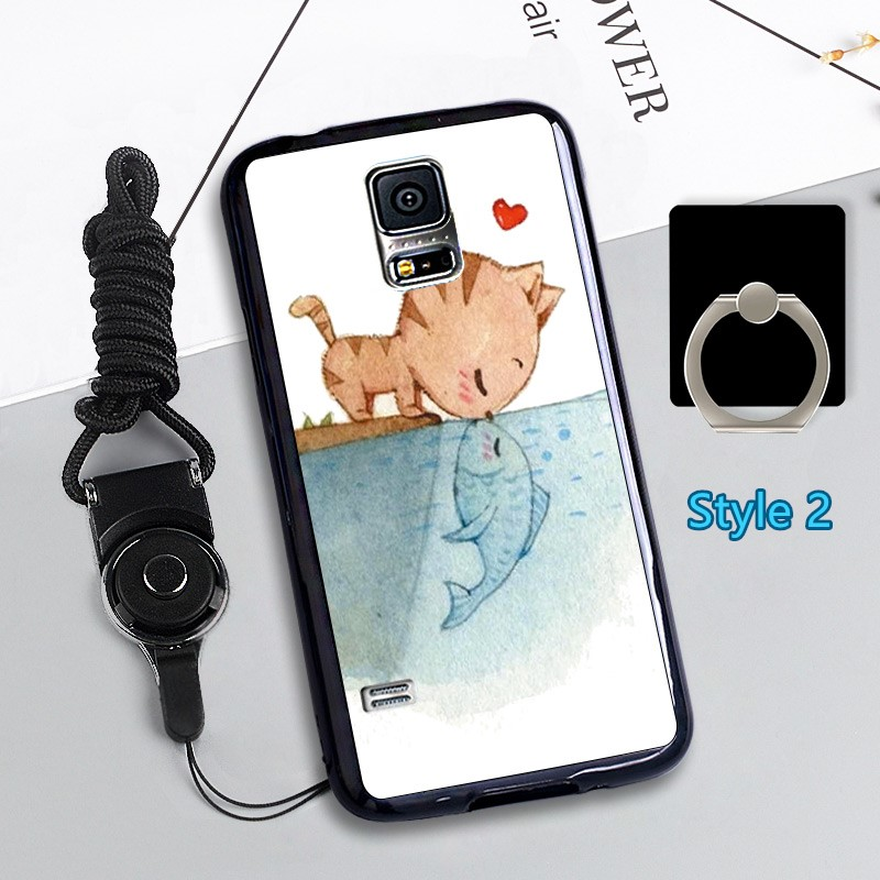 Cheap Cute Silicone Samsung S5 Cover Samsung Phone S5 Cases SGS02_2
