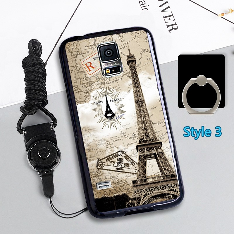 Cheap Cute Silicone Samsung S5 Cover Samsung Phone S5 Cases SGS02_3