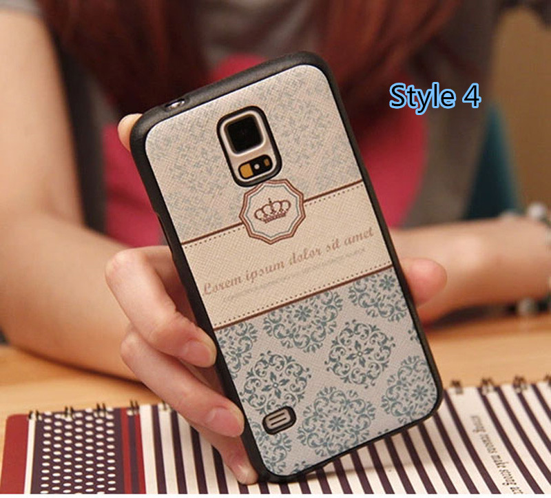 Cheap Cute Silicone Samsung S5 Cover Samsung Phone S5 Cases SGS02_4