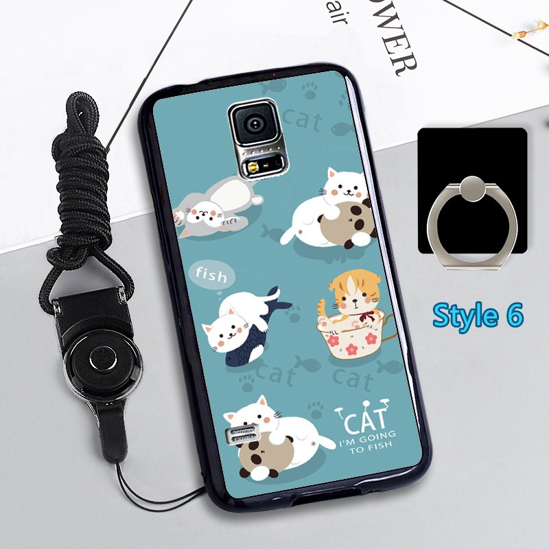 Cheap Cute Silicone Samsung S5 Cover Samsung Phone S5 Cases SGS02_6