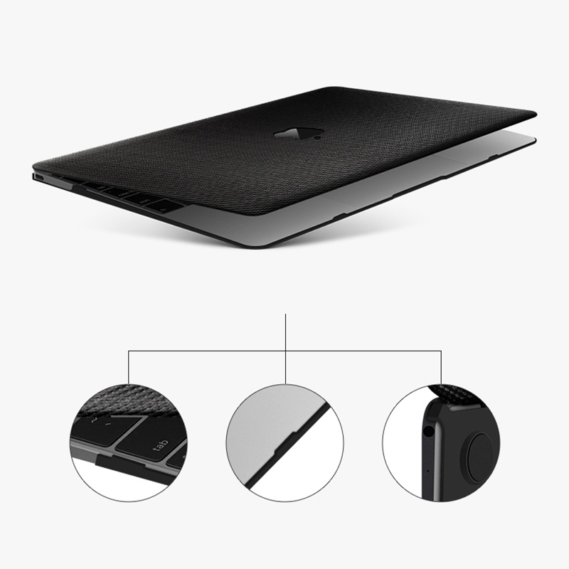 Best Black Macbook Pro Cover And Air Case In 11 13 15 Inch MBPA05_6