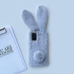 Purple Plush Case With Heart Shape For Samsung S9 8 Note 10 9 8 SGS07