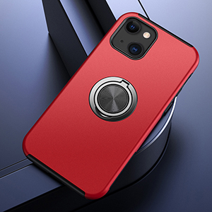 Creative Silicone Case With Ring For iPhone 13 Mini Pro Max IPS618