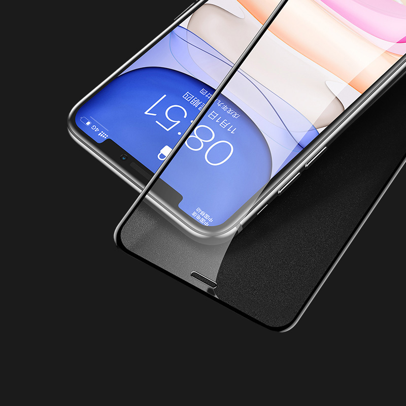 Best Gold Metal iPhone 6 And 6 Plus Full Tempered Glass Screen Protector IPASP02
