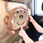 360 Rotation Orange Best Leather Apple iPad Air 2 Cases IPCC09