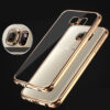 Anti-fall TPU Protective Transparent Cover Case For Samsung S6 And Edge SG601