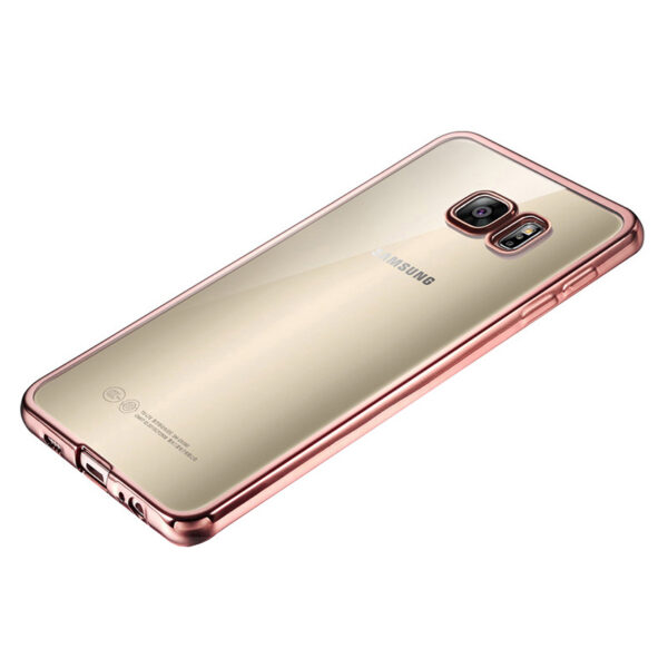 Anti-fall TPU Protective Transparent Cover Case For Samsung S6 And Edge SG601_2