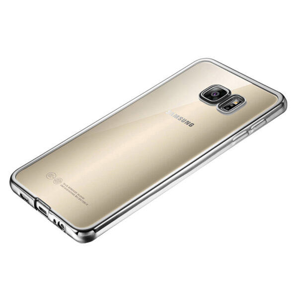 Anti-fall TPU Protective Transparent Cover Case For Samsung S6 And Edge SG601_3