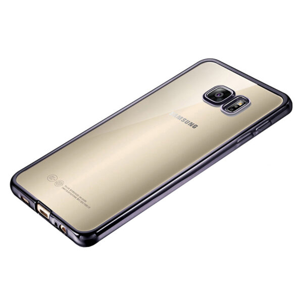 Anti-fall TPU Protective Transparent Cover Case For Samsung S6 And Edge SG601_4