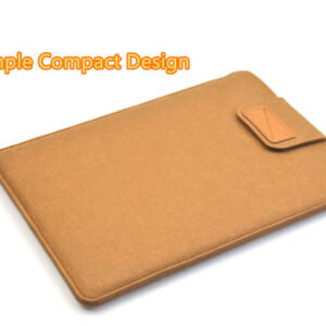 2018 Best Light Gray 12 Inch Leather Macbook Sleeve Bags MB1201_3