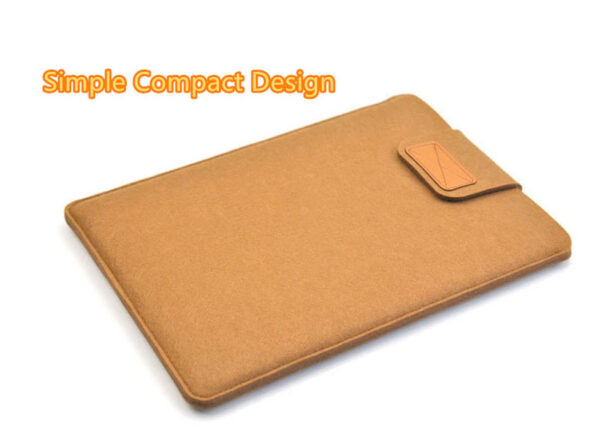 2019 Best Light Gray 12 Inch Leather Macbook Sleeve Bags MB1201_3