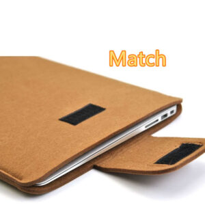2018 Best Light Gray 12 Inch Leather Macbook Sleeve Bags MB1201_4