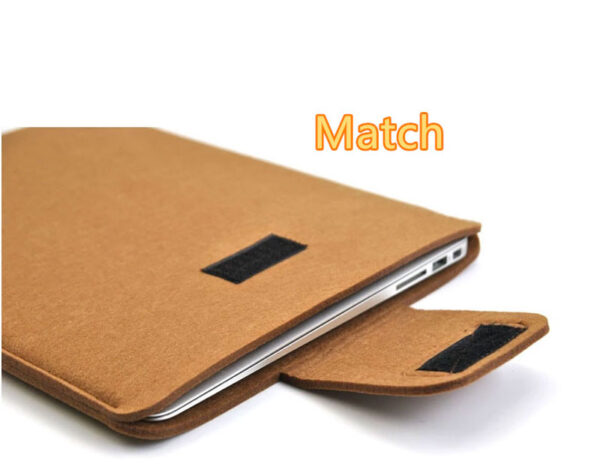 2019 Best Light Gray 12 Inch Leather Macbook Sleeve Bags MB1201_4
