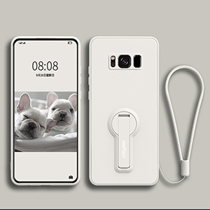 Protective Silicone Samsung S6 And S6 Edge Case With Ring SG610