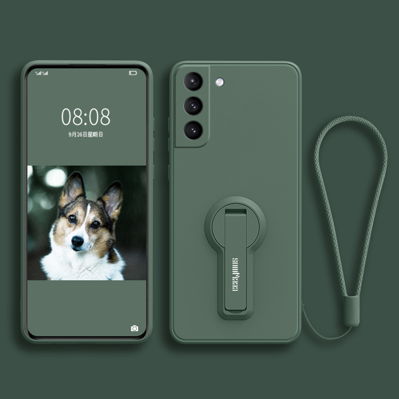 Protective Silicone Samsung S6 And S6 Edge Case With Ring SG610_3