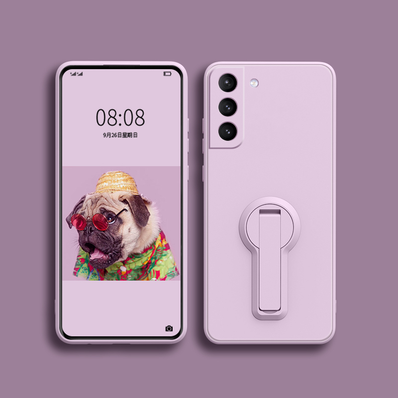 Protective Silicone Samsung S6 And S6 Edge Case With Ring SG610_4