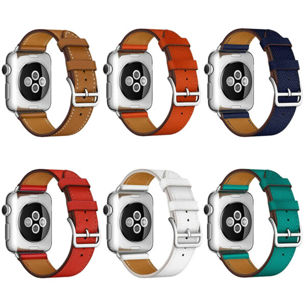 Leather 38MM 42MM Apple Watch Band For iWatch 1 2 3 AWB01_2